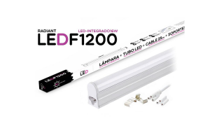 Tubo LED Integrado F1200 120CM 16W 6500K Luz Fría 1400LM