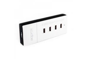 Cargador para red doméstica 4 Puertos USB 5V