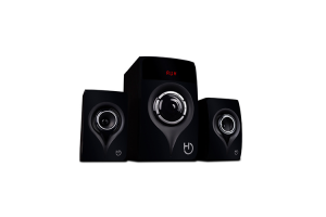 Altavoces 2.1 Bluetooth H450 80W Lector USB/SD y Entrada auxiliar Radio FM